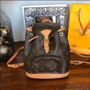 Louis Vuitton montsouris pm mini backpack